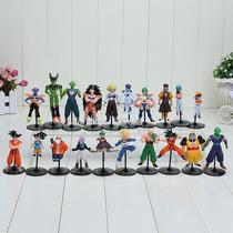 Dragon Ball Z Gt Dbz Dragão Ball 20 Bonecos Anime Goku Gohan