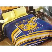 Cobertor Ligero Tigres Uanl Matrimonial Providencia