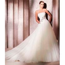 Vestido De Noiva Importado Moderno Pronta Entrega