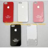 Capinha Apple Iphone 5 5s Original Preta Branca Vermelha