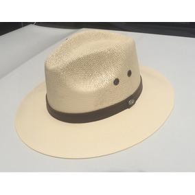 Sombrero Panama Hilo Pintado Para Playa