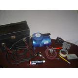 Kit Pro C/ Aerógrafo P/a Restauração E Micropintura De Autos