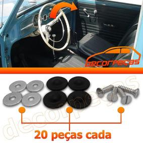 Kit Parafuso Forro Porta Fusca Brasilia Variant Kombi 60 Pcs
