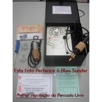 Pirografo Pm-13 Profissional Eletronico 60 Temp. 2 Canetas