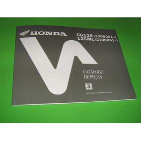 Honda Cg 125 125 Ml Catálogo De Peças Do Fabricante