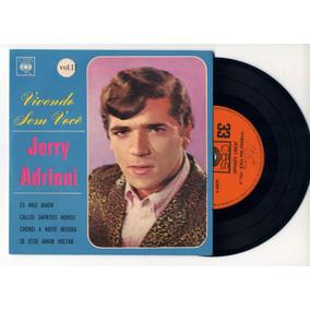 Lp Vinil -cd/67 Jerry Adriani - Vivendo Sem Você- Vol 2 Cbs