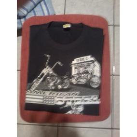Camiseta Moto/harley American Steel