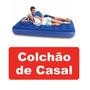 Colchão Inflável Casal Bestway Standard * Camping Barraca