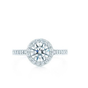 Anillo De Compromiso Con Diamante De 1.00 Ct. En Oro 14k.