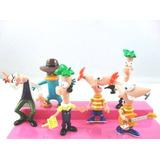 Phineas Y Ferb - Set De Muñecos - Importado - Exc. Calidad.