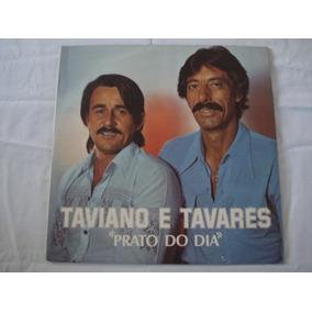 Taviano E Tavares-lp-vinil-prato Do Dia-mpb-sertanejo
