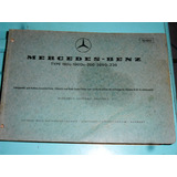 Catálogo De Peças Mercedes-benz Chassis Carroceria 190 200