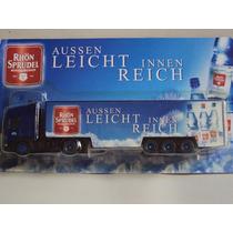 Miniatura Caminhão Truck Rhön Sprudel Scania
