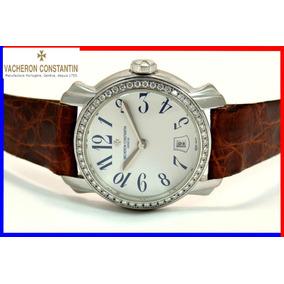 0f883793605 Relógio Princesa Diamantes Em Nobre Ouro Branco 18k Movado ...