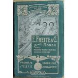Antiguo Catálogo De Ropa Y Manteleria En Italiano 1905 -1906
