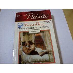 Livro Harlequin Paixão Nº23 Emma Darcy