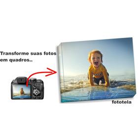 Foto Tela Quadro Personalizado Em Canvas 20x20cm