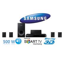 Home Theater Samsung Ht-j4500 K C/ Blu - Ray Y Bluetooth 5.1