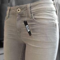 Sxy Jns Premium Mod. Ashley Skinny Cintura Media Gris Claro