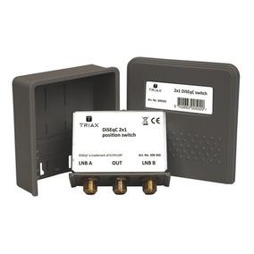 Diseqc Switch 2 X 1 Especial Para Fta