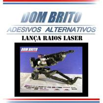 Adesivos Para Lança Raios Laser Comandos Em Ação.
