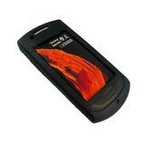 Capa De Silicone Celular Samsung Star 3g S5620 +pelicula Lcd