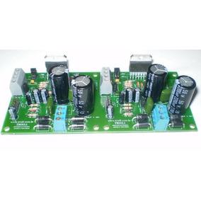 Placa Lisa Pra Montar Amplificador Audio Stereo 200w Tda7294