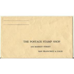 Envelope Antigo The Postage Stam Shop - San Francisco