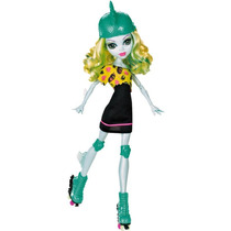Monster High Lagoona Blue Patinadora Mattel Roller Maze