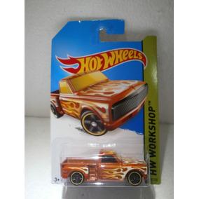 Hot Wheels Camioneta Custom 69 Chevy Pickup 217/250 2014