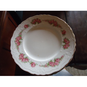 Pratos De Porcelana Inglesa Com Rosas (preço Unitário)