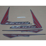 Kit Adesivos Honda Nxr150 Es Bros 2009 Preta 10169