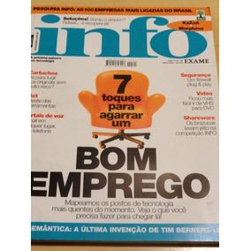 Revista Info Exame - 7 Toques Para Agarrar Um Bom Emprego