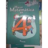 Libro De Matematicas 4to Año Estrada
