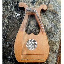 Lira 23 Cordas Em Nylon - Mini Harpa