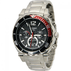 Relógio Orient Cronógrafo Mbssc049 Masculino Visor Preto