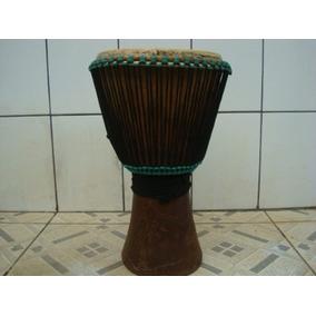 Djembe Africano, De Burquina Faso (africa) Entalhado. Troco