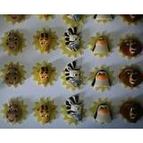 30 Lembrancinhas Rostinho Madagascar Imas Em Biscuit