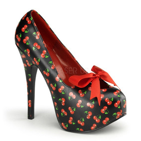 Zapatillas Estampado Cerezas Psychobilly Teeze-12-6