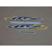 Kit Adesivos Honda Biz 125 Es 2008 Amarela - Decalx
