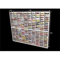 Estante Expositor (200 Lugares) Hot Wheels Miniatura Coleção