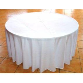 Mantel Redondo 2.90 De Diametro