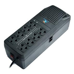 Regulador De Voltaje 2000va Con 8 Tomas Protegidas, Star Tec