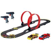 Pista Autos Carreras Scalextric Inalambrico Doblre Loop