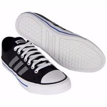 Tênis Adidas Vlneo 3stripes Lo K Cor Preto Tamanho 36