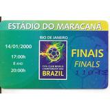 Ingresso Vasco X Corinthians Mundial 2000 Fifa Final 14/01