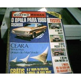 Quatro Rodas Dez / 78 - Opala, Fiat 147 , Dodge Dart Belina