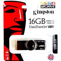 Pen Drive Kingston 16gb Original Frete Grátis