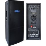 Caixa Ativa Thunder Sound Box Dupla 600 W Rms Biamplificada