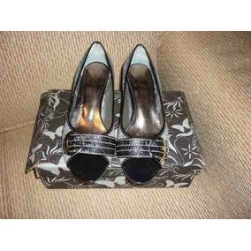 Sapato Peep Toe Milano Nº 36